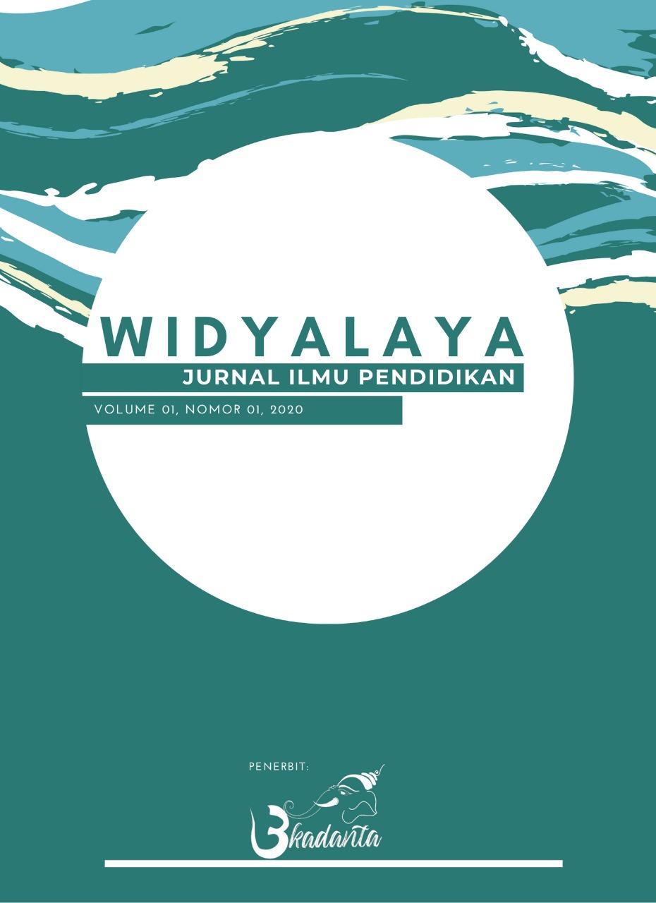 WIDYALAYA: Jurnal Ilmu Pendidikan
